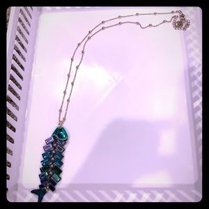 Betsey Johnson Long Fish Necklace